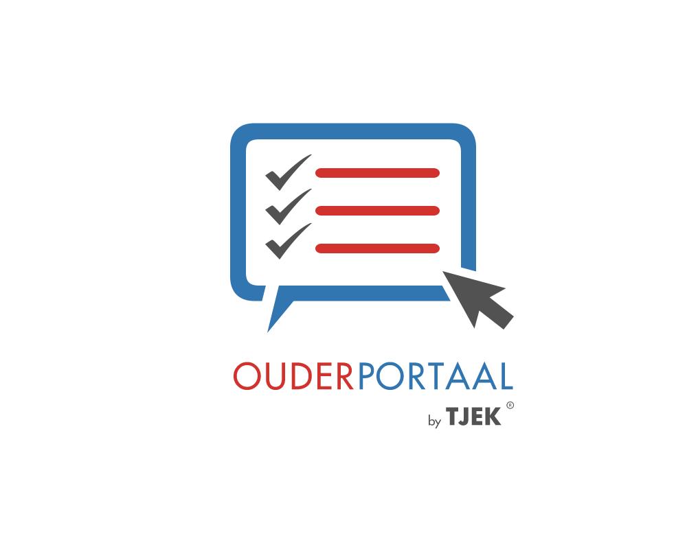 Logo van het ouderportaal van Tjek
