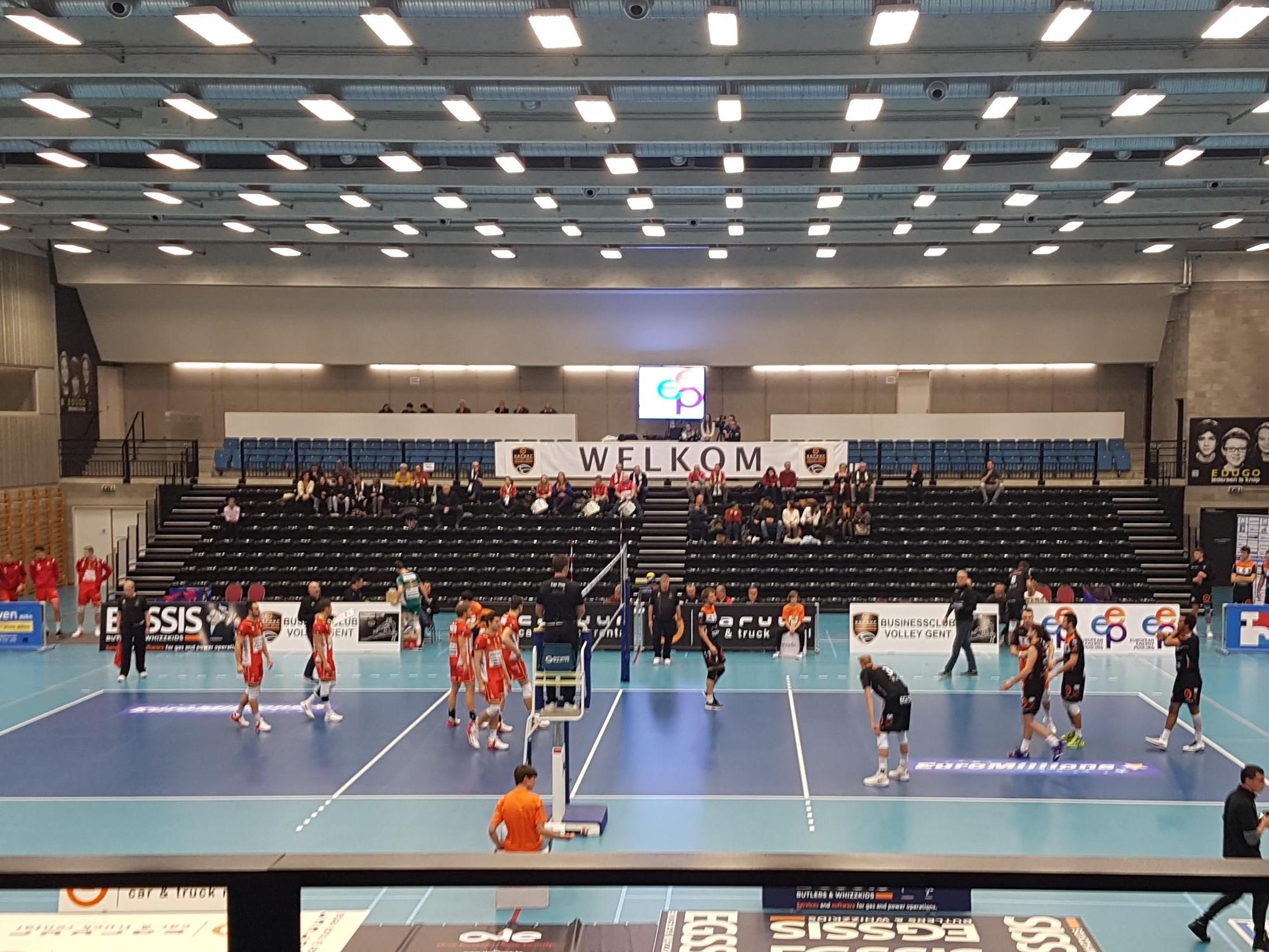 Volleybalmatch Reinaert Gebruikersdag